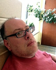 Day 451 - Day 85: In the quiet corner (knoopie) Tags: selfportrait me march doug year2 day85 picturemail iphone knoop 365days 2013 knoopie 365more 365daysyear2 day451