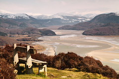 Late Snow above the Mawddach (MarkEllis) Tags: