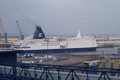Pride of York in dock (BiggestWoo) Tags: york cruise sea car ferry port river north mini pride terminal hull ferries cruises humber poferries abp minicruise prideofyork portofhull minicruises