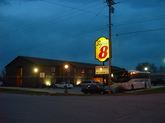 The Super 8 (jimmywayne) Tags: motel kansas super8 chanute neoshocounty