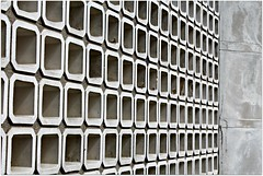 Concrete Squares (Read2me) Tags: she geometric wall square row repetition shape twocolors pree cye gamewinner friendlychallenges thechallengefactory