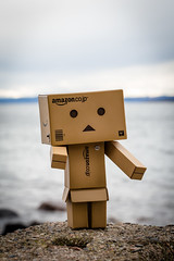 Danbo at the beach in April (nemi1968) Tags: sea beach water oslo canon outdoor april bygdy danbo markiii