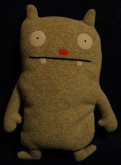 Uglydoll Handmade David Horvath and Sun Min - Jeero Original (jcwage) Tags: giantrobot doll handmade ox ugly target gr uglydoll rare uglydolls icebat babo jeero horvath cinko davidhorvath sunminkim sunmin wedghead uglycon original100