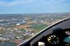 Over 35 km visibility... not to bad!!! (La Pom ) Tags: aircraft flight engine single pont sur a210 vol propeller avion rotax aquila hélice yonne monomoteur