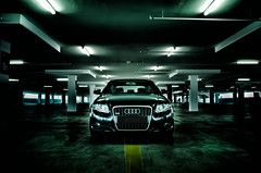 Audi A4 (Justin Hee) Tags: cars photography nikon automotive malaysia a4 audi carpark strobe