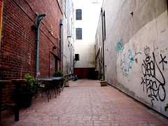 Asheville Alley (Ace Ace Baby) Tags: asheville 15mm bodycap epl1 microfourthirds mu43