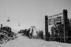 Stateline (Allison Mickel) Tags: nikon d7000 adobe lightroom edited nevada lake tahoe heavenly mountain california chairlift blackandwhite stateline border tamarack