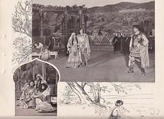 Scene 2 of a 1900 production of Ben Hur (mharrsch) Tags: benhur play presentation lewwallace production novel souvenirbooklet publicdomain 1900 mharrsch