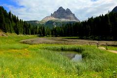 Lake Antorno (annalisabianchetti) Tags: mountains montagne dolomites dolomiti alps veneto lake paesaggio landscapes