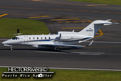 HI1001 (Hector A Rivera Valentin) Tags: private cessna750citationx hi1001 cn7500099 airport international sanjuan puertorico tjsj sju cessna 750 citation