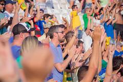 Volei De Praia Feminino (Richard.l.siqueira) Tags: volei praia torcida rio olimpadas 2016 marinha do brasil