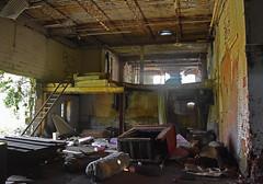 Hideout (dakotatylerd) Tags: abandoned ohio boards garbage bricks factory daytime middletown forgotten nikon d7200 exploring