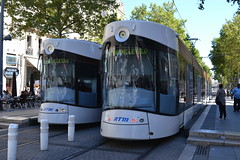 RTM Tram 019 & 002 (Will Swain) Tags: marseille 15th july 2016 tram trams light rail railway rails transport travel europe french france south sud est east provence alpes cte dazur rtm 019 002 19 2