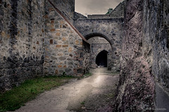 The anchient trail (hunblende) Tags: ruin trail anchient visegrd royalpalace hungary wow