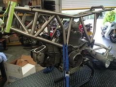 026 (REDMAXSPEEDSHOP.COM) Tags: mh900e ducati titanium frame carbon body redmax cafe racer