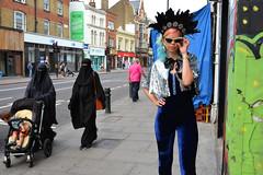FAB. (Darren Johnson / iDJ Photography) Tags: fashion shoot photoshoot street london stoke newington female style public fabienne hebrard dj capture nikon photography photographer idjphotography flickr burqa niqab
