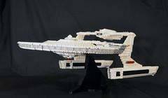 DSC_4727 (jonmunz) Tags: lego star trek spaceship uss reliant starship wrath khan