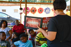 Resourceful_Communities_Sandhills_Heritage_Family_Association_2016_NC_(c)_Olivia_Jackson_1 (Resourceful Communities) Tags: children class dentistry discussion education farm food fresh fruit groups learning produce programs sandhills springlake summer volunteers youth