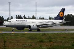Lufthansa D-AINA, OSL ENGM Gardermoen (Inger Bjrndal Foss) Tags: daina lufthansa airbus a320 neo osl engm norway gardermoen
