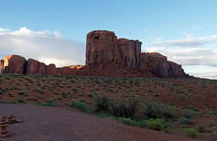 MonumentValley041 (A.C. Taylor) Tags: monument valley dusk