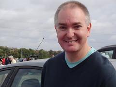 Car boot sale seller (Julie70 Joyoflife) Tags: seller carbootsale uk carsale london whilefilming pepperhillfield southfleet photojuliekertesz