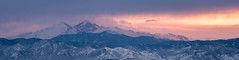 Rise (Lightcrafter Photography) Tags: colorado sunset mountains snow clouds lightcrafterphotography danielkessel winter milehigh longspeak estespark loveland rockymountainnationalpark rmnp