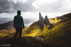 fascinated (Steffen Walther) Tags: 2016 reise schottland travel scotland uk skye oldmanofstorr highlands outdoors steffenwalther fotografjena reisefotolust wanderlust hiking trekking green britain hebrides canon5dmarkiii canon1740l light sun clouds color landscape