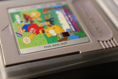 This side out (a0rtega) Tags: nintendo cartridge this side out gameboy