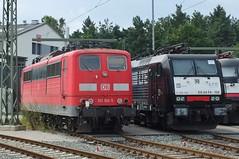 151100 + 189156 Nuremberg (NN2) Depot (anson52) Tags: nn2 151