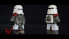 First Order Snowtrooper Sculpt (AndrewVxtc) Tags: lego star wars custom sculpted first order snowtrooper episode 7 andrewvxtc