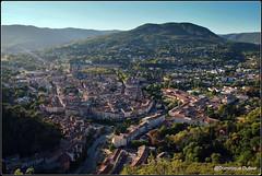 Lodve. Hrault. Languedoc Roussillon (Dominique Dufour) Tags: lodve languedocroussilon vueariennelodve paysage ville fujis5pro dominiquedufourphoto