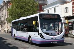 Wright Streetlite (DennisDartSLF) Tags: colchester bus wright streetlite 63338 first firstessex sm65eew