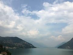 (Paolo Cozzarizza) Tags: italia lombardia bergamo rivadisolto acqua lago lungolago panorama cielo riflesso