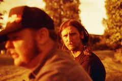 Over my shoulder (Magnus Bergstrm) Tags: lomography redscale xr lomographyredscalexr film 135 35mm canonae1 canon ae1 analog color colour portrait sweden vrmland sverige wermland karlstad sandgrund sandgrundsudden robsch00 tottaf00