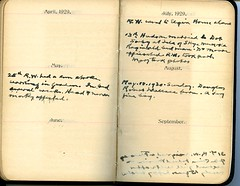 Diary of Robert Wallace p.74 (Community Archives of Belleville & Hastings County) Tags: 1880s 1890s 1900s 1910s 1920s diaries homechildren