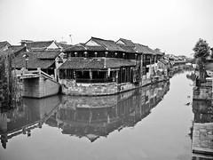 xitang (Ket Lim) Tags: shanghai china travels blackandwhite asia trips monochrome nanjing suzhou pudong bund canal xitang hangzhou travel streets