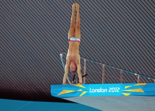 Tom Daley-10m Platform Competition