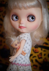 Maybe Tiny Doll needs a dress too. She has been naked for many years!