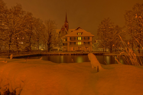 Kloster Kappel at Night