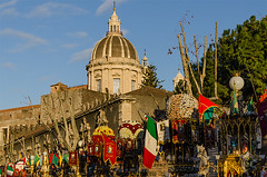 Catania, Saint Agatha Feast 2013 - Outside path (ciccioetneo) Tags: italy feast nikon candles italia fireworks sicily prayers catania sicilia ceri fuochidartificio santagata sagata devotes fuochipirotecnici saintagatha devoti 4febbraio festadisantagata 3febbraio 4thfebruary 5febbraio 5thfebruary d7000 nikond7000 ciccioetneo flickrandroidapp:filter=none saintagathafeast messadellaurora saintagathacelebration prayingdevotes santagata2013 festadisantagata2013 stagathafeast stagathafeast2013 saintagathafeast2013 stagathacelebration 3rdfebryuary february35th