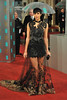 The 2013 EE British Academy Film Awards (BAFTAs) held at the Royal Opera House - Arrivals Featuring: Zawe Ashton