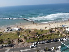 View from balcony, Bat Yam(2) (dlisbona) Tags: sea vacation holiday vacances israel telaviv view apartment flat rental location appartement luxury seaview batyam louer apartement sejour