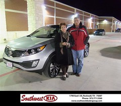 HAPPY ANNIVERSARY TO RICHARD HUIE (Southwest Kia Rockwall) Tags: birthday new southwest happy dallas texas anniversary richard kia rockwall dealership 2012 dealer shout customers outs sportage huie 247200 httpavximagesdeliverymaxxcomtyee247200jpg
