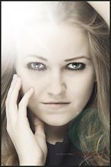 Portrt (Dargstar) Tags: portrait people woman girl beauty face canon eos gesicht portrt blond bella frau mdchen mensch