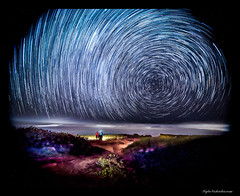Mokuleia Star Trails 3 (madmarv00) Tags: nightphotography hawaii nikon oahu startrails longexposures d600 mokuleia kylenishiokacom