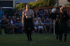 SONY DSC (C & R Driver-Burgess) Tags: men tattoo kilt muscle competition games highland weight carry lifting paeroa 2013 farmerswalk