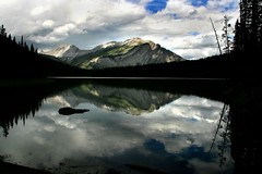 Mt Indefatigable from Hidden Lake (dennis_b9) Tags: kananaskis hiddenlake mtindefatigable