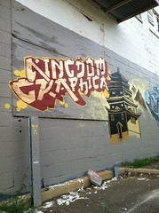 Kingdom Graphica (ChattZone423) Tags: chattanooga graffiti tn tennessee seven graff chatt dyce nmk dycer uploaded:by=flickrmobile flickriosapp:filter=nofilter kingdomgraphica hotbutta