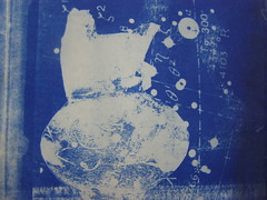 Cyanotype : Artist's Book, Paul Soldner pot with astronomical data. (Russell Moreton) Tags: blue white archaeology architecture artwork ceramics drawings agency pottery continuity process empathy ambiguity cyanotype finality aesthetics artistsbook entanglements paulsoldner generality modalities colourandlight staratlas contemporaryartpractices vocationallearning creativeenterprise reflectivejournal russellmoreton socialvessels visualcartography researchartist evocativespaces spatialtransparencies