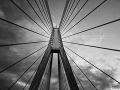 The ANZAC [Explore] (Bass Photography) Tags: bridge sky blackandwhite clouds blackwhite sydney australia nsw infrastructure newsouthwales roads innerwest suspensionbridge glebe cablebridge anzac leichhardt anzacbridge blackwhitephotos innercityofsydney explore18213